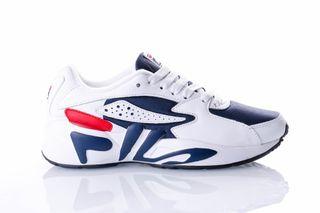 Foto van Fila Mindblower Wmn 5Rm00161 Sneakers White/Fila Navy / Fila Red