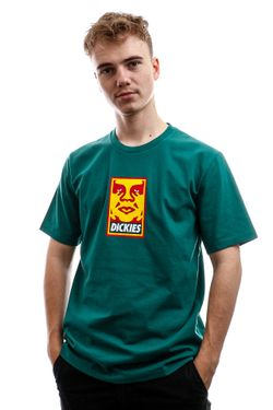 Afbeelding van Dickies T-Shirt Oby6 Tshirt Obey Mens Alpine DK0A4TNJALP1