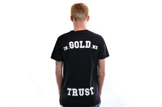 Foto van In Gold We Trust T Shirt Basic Tee Black IGWT-001