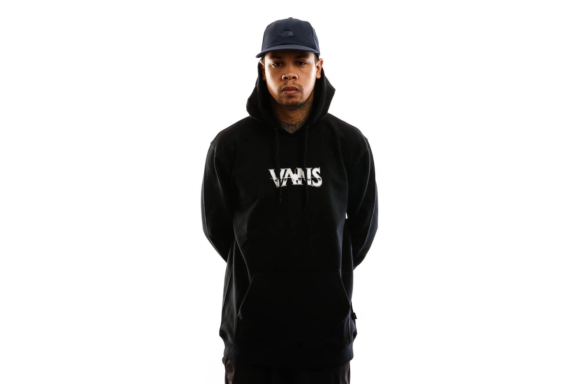 Afbeelding van Vans Hooded Mn Dark Times Po Black VN0A49SVBLK1