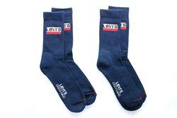 Afbeelding van Levi's Bodywear Sokken Levis Regular Cut Sprtwr Logo 2P Dress Blues 902012001