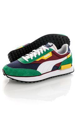 Afbeelding van Puma Sneakers Future Rider Play On Amazon Green-Puma White 37114934