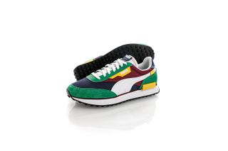 Foto van Puma Sneakers Future Rider Play On Amazon Green-Puma White 37114934
