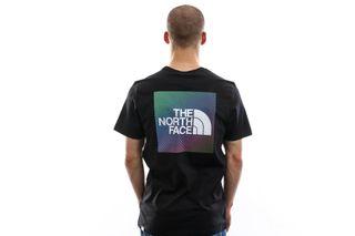 Foto van The North Face T-shirt Men'S Ss Rnbw Tnf Black/Tnf White NF0A4M6PKY4