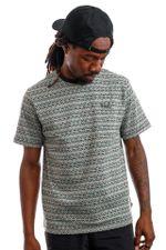 HUF T-Shirt HUF ALLEN S/S KNIT Sage KN00289