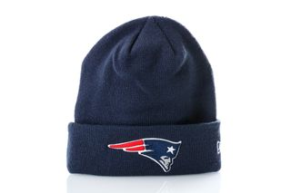 Foto van New Era Muts New England Patriots Team Cuff Knit 12040219