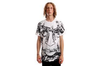 Foto van HUF T-Shirt HUF VOTE FOR MILES S/S WHITE TS01762