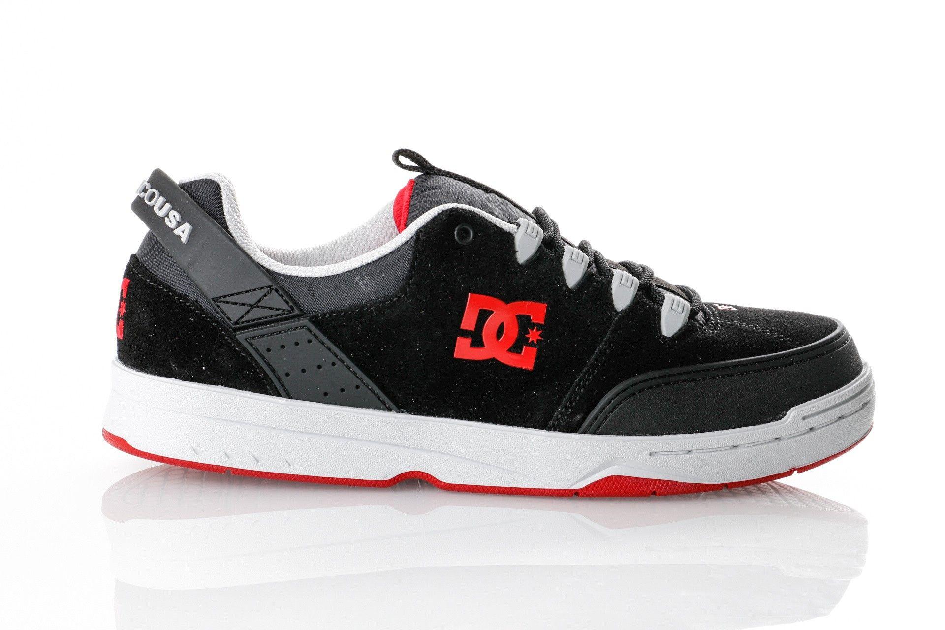 Afbeelding van Dc Syntax M Shoe Xksr Adys300290-Xksr Sneakers Black/Grey/Red