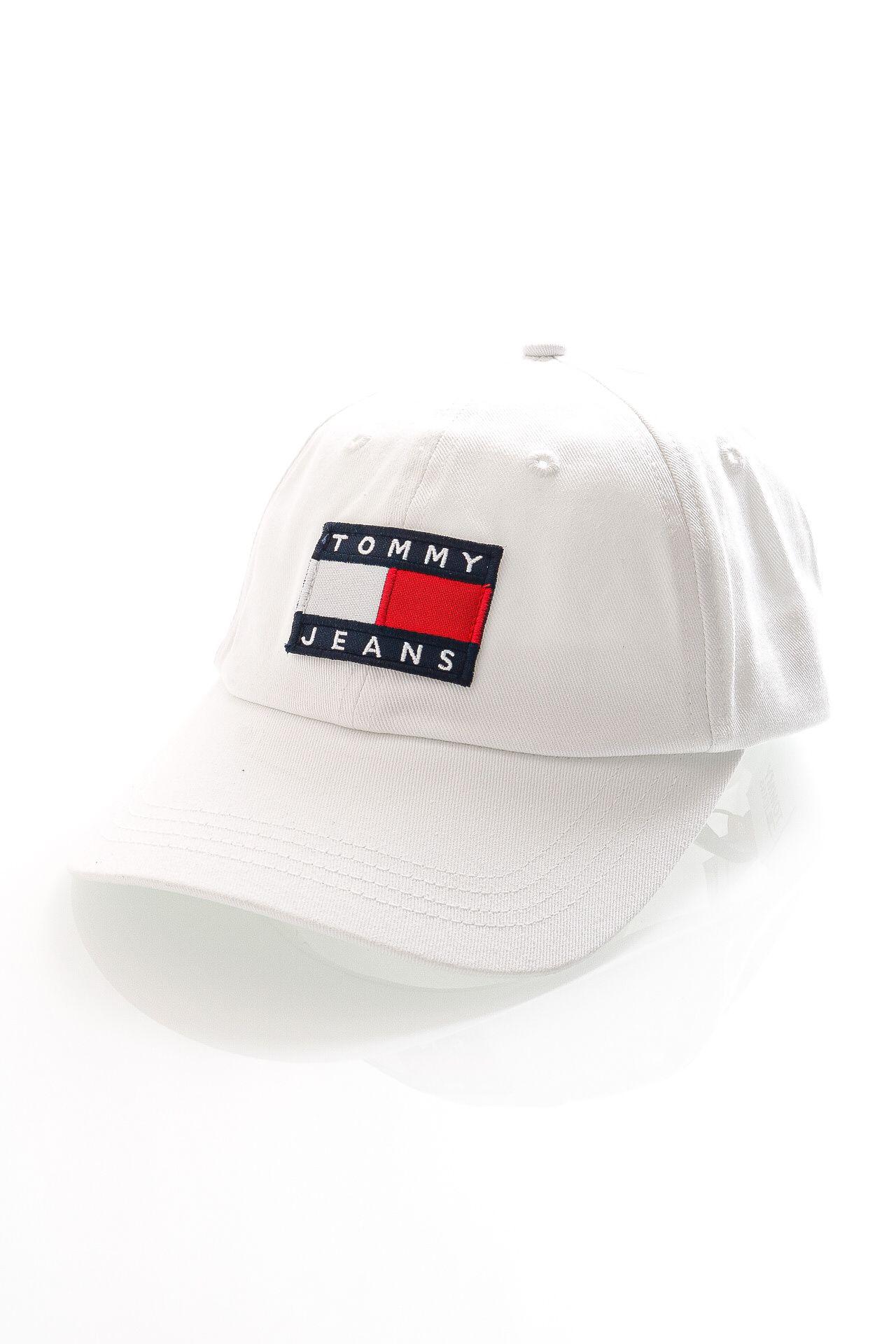 Afbeelding van Tommy Jeans Dad Cap TJM HERITAGE CAP White AM0AM07531