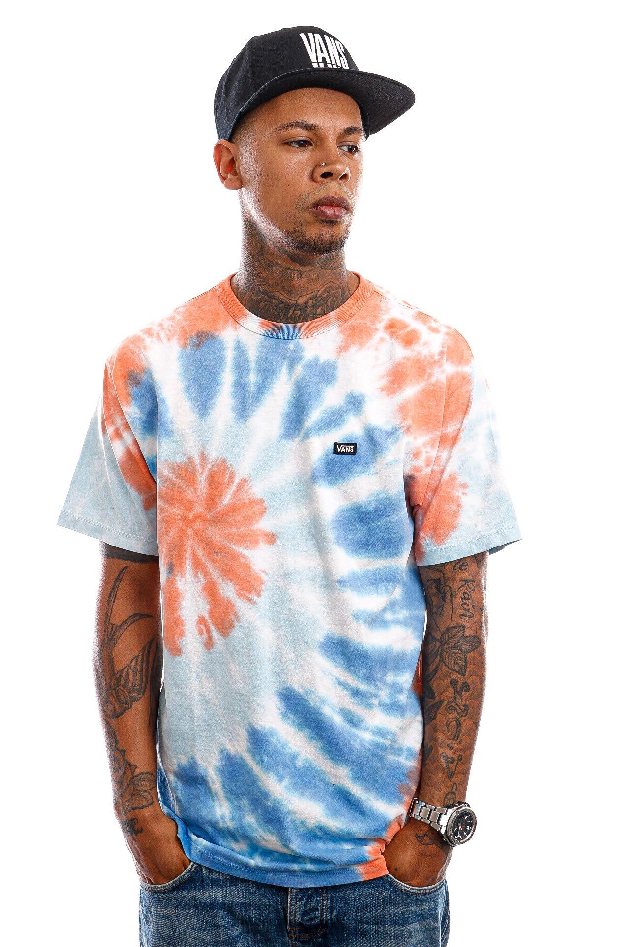 Afbeelding van Vans T-Shirt Off The Wall SunBurst Tie Dye/Spicy Orange VN0A5E78ZDE1