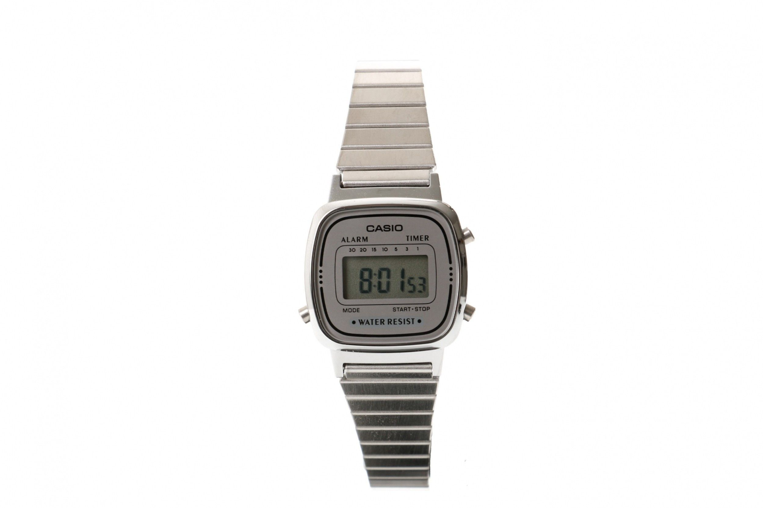 Afbeelding van Casio Vintage La670Wea-1Ef Watch La670Wea Zilver