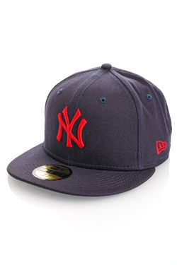 Afbeelding van New Era Fitted Cap League Essential 59FIFTY NVYSCA 60137527