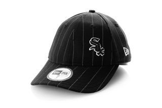Foto van New Era Fitted Cap Chicago White Sox Pin stripe