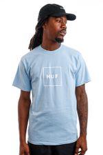 HUF T-Shirt HUF ESSENTIALS BOX LOGO Light Blue TS00507