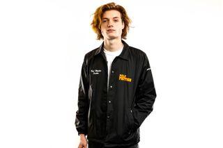 Foto van HUF Jas Pulp Fiction Coaches Jacket Black JK00283