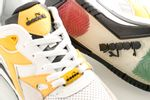 Afbeelding van Diadora Rebound Ace Beta 501175499 Sneakers Black/White/Banana