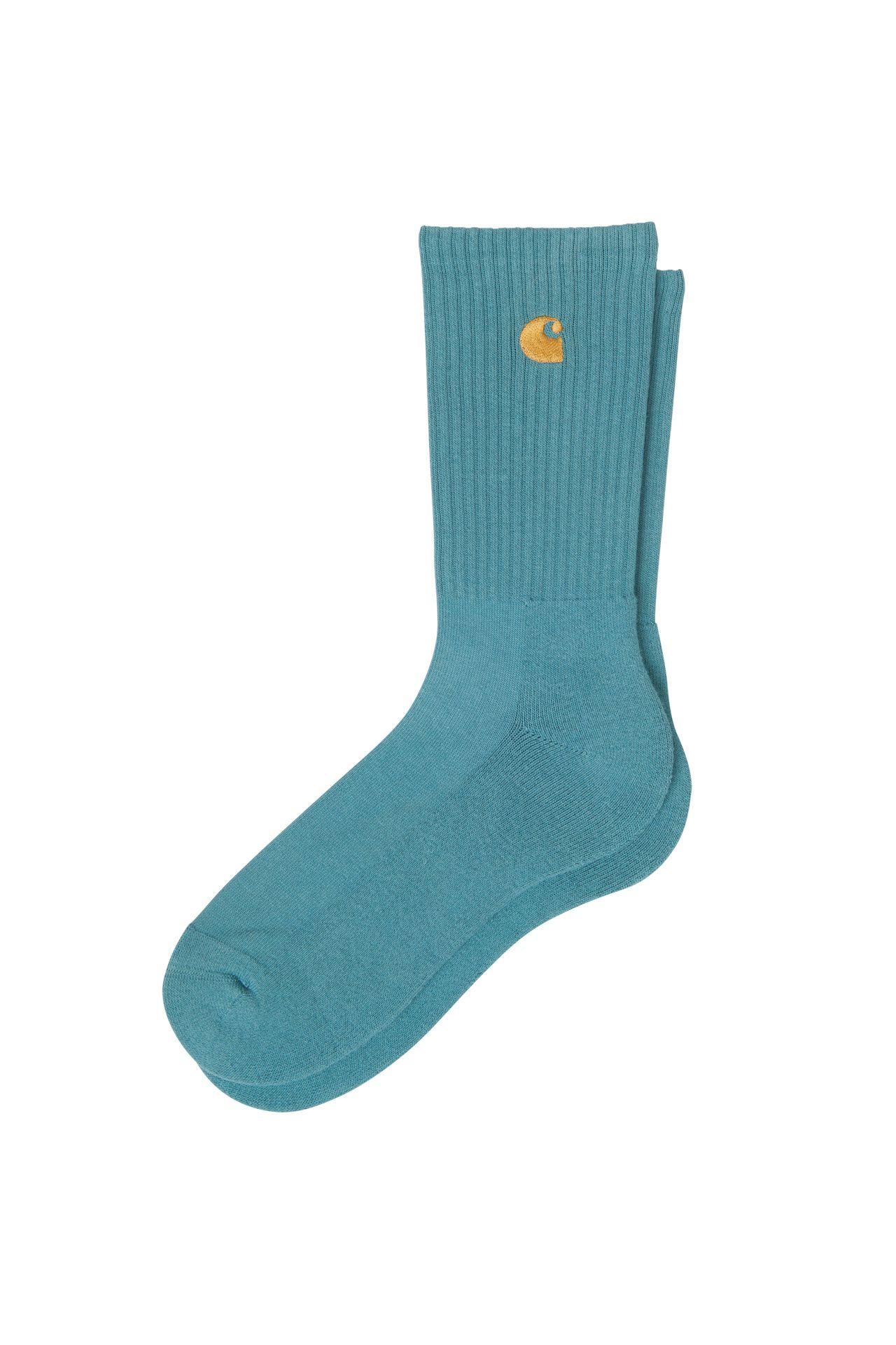 Afbeelding van Carhartt WIP Sokken Chase Socks Hydro/Gold I029421