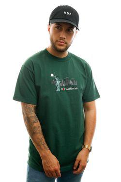 Afbeelding van HUF T-shirt Gift Shop S/S Tee Sycamore TS00999-SCMRE