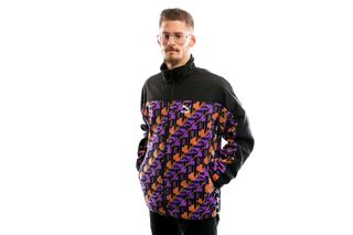 Foto van Puma Xtg Woven Jacket Aop Jaffa Orange-Purple 595540 17