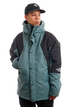 Afbeelding van The North Face Jas M MTN LIGHT DRYVENT INS BALSAM GREEN NF0A3XY5HBS1