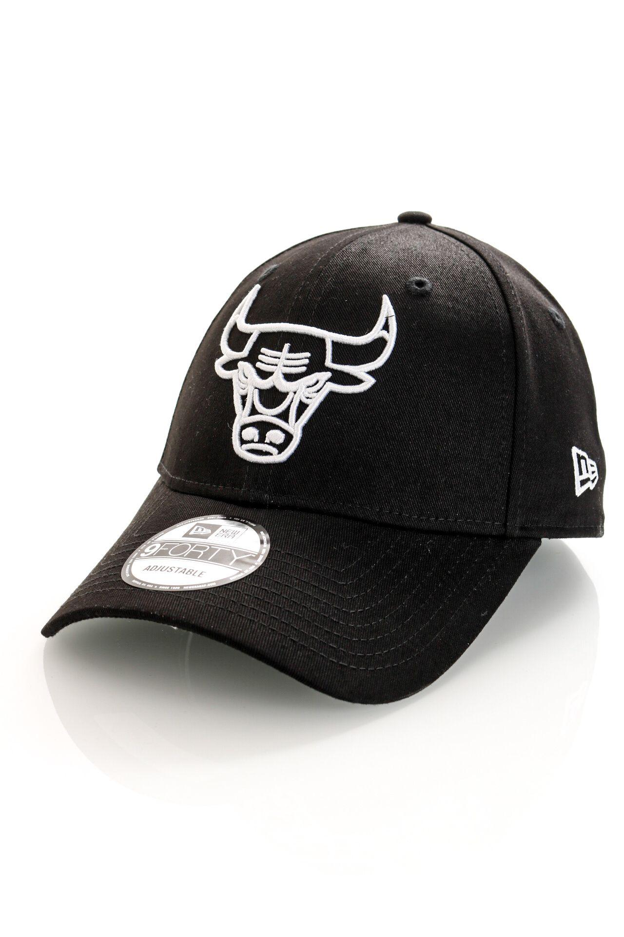 Afbeelding van New Era Dad Cap Chicago Bulls NBA LEAGUE ESSENTIAL 9FORTY BLK 12292586