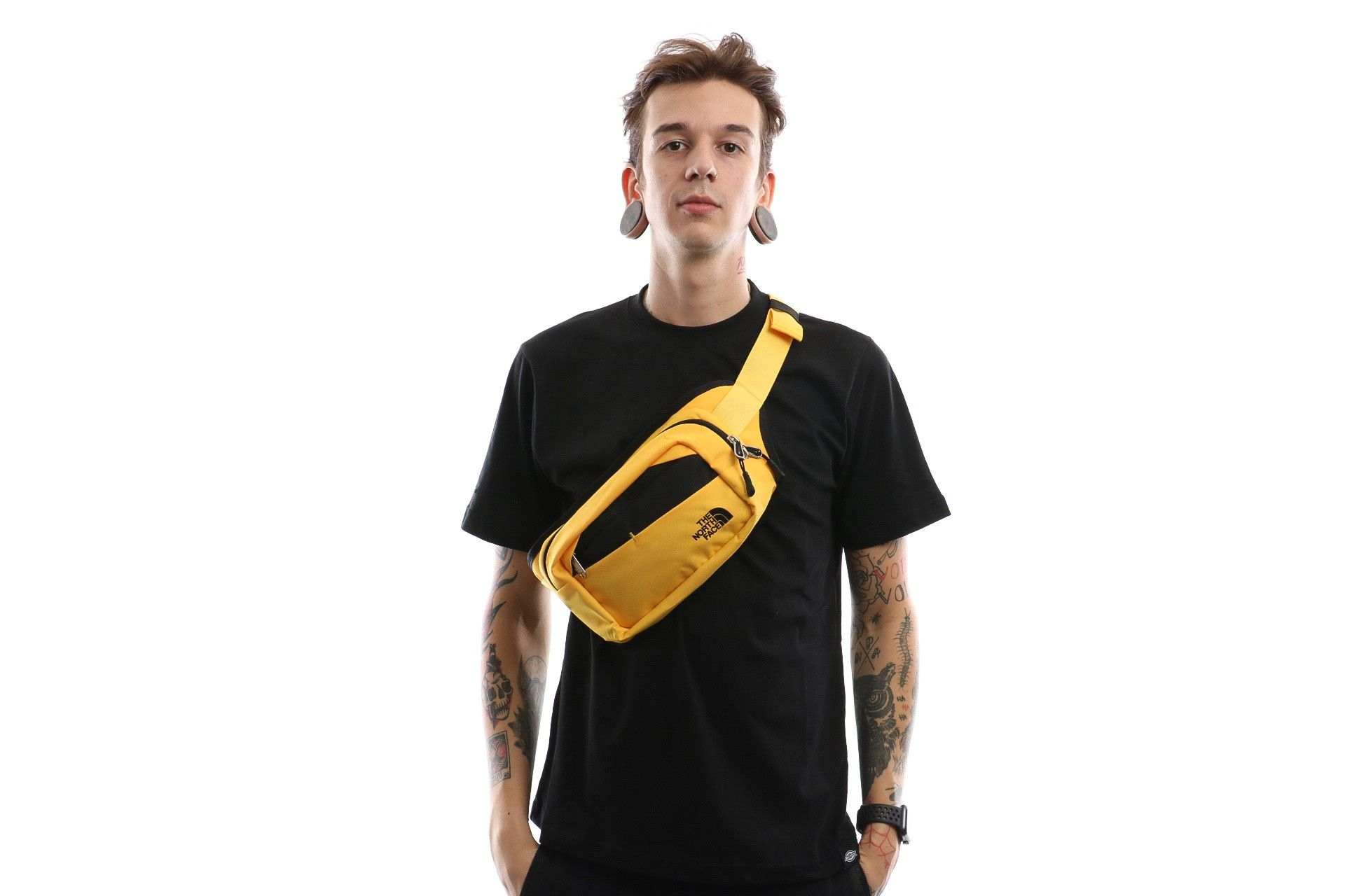 Afbeelding van The North Face Bozer Hip Pack Ii T92Ucxlr0 Heuptas Tnf Yellow/Tnf Black