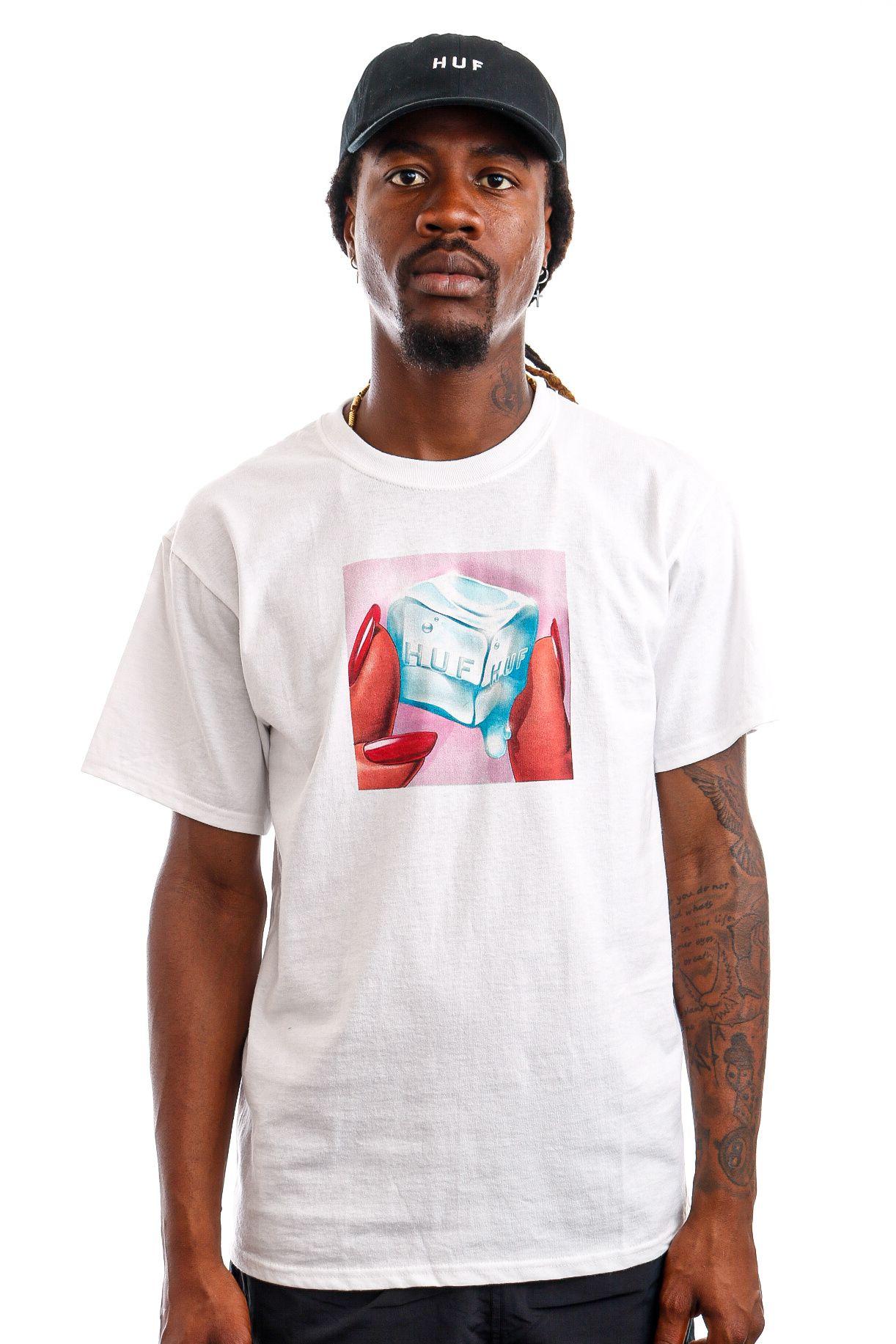 Afbeelding van HUF T-Shirt HUF ICE MELTS White TS01415