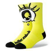 Stance X Billie Eilish Anime Eyes U558B19Ani Sokken Neon yellow