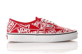 Foto van Vans Ua Authentic Vn0A38Emukl1 Sneakers (Otw Repeat) Red/True Whi