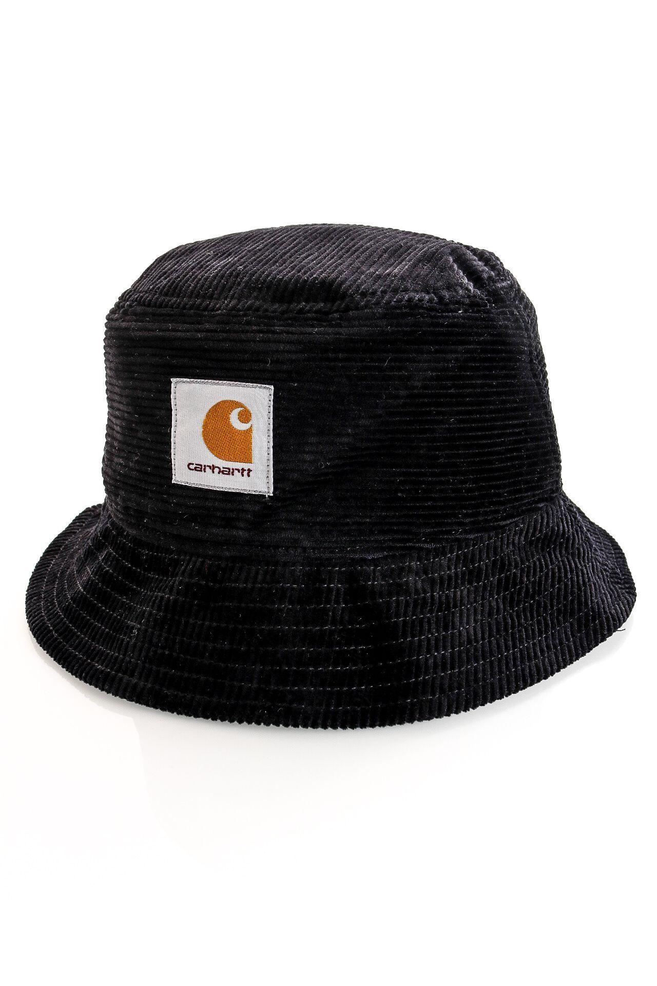 Afbeelding van Carhartt Bucket Hat Cord Hat Black I028162