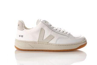 Foto van Veja V-12 Xd011535 Sneakers White / Natural