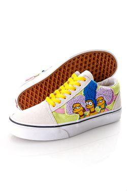 Afbeelding van Vans x The Simpsons Sneakers UA Old Skool (THE SIMPSONS)T, 5, Medium Black/Cashew/Kh VN0A4BV521M