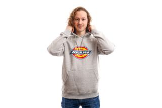 Foto van Dickies Hooded San Antonio Hoody Grey Melange DK330187GYM1