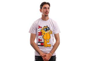 Foto van Tommy Jeans T-shirt TJU X GARFIELD Lilac Dawn DM0DM12192