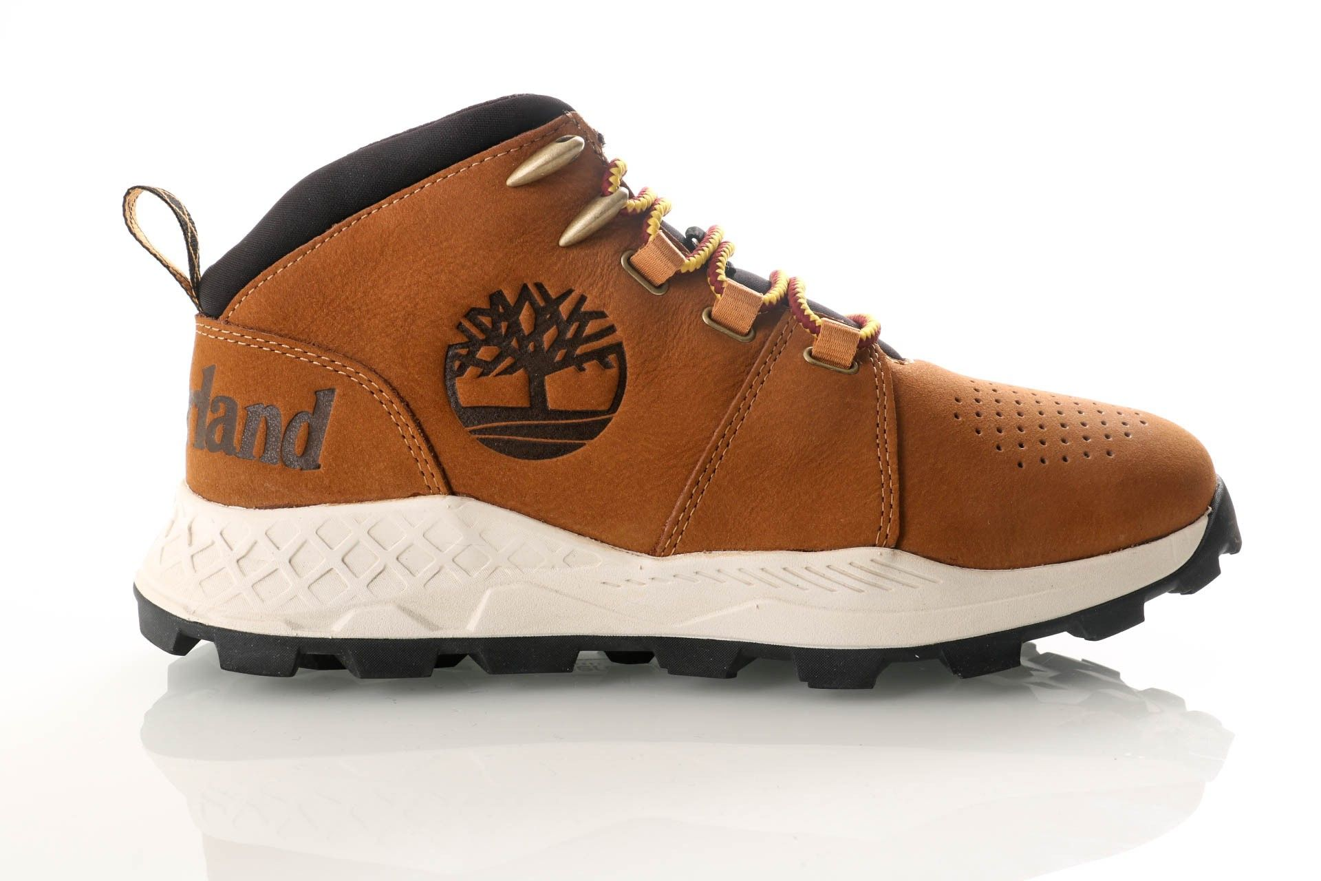 Afbeelding van Timberland Light Brown Nubuck Tb0A26Jw2281 Sneakers Brooklyn City Mid