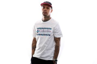Foto van Columbia T-Shirt M Rapid Ridge™ Graphic Tee White Icon 1888813101