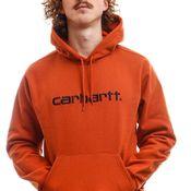 Carhartt Hooded Hooded Carhartt Sweat Cinnamon / Black I027093