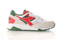 Afbeelding van Diadora N9002 Beta 501175498 Sneakers White/Chinese Red