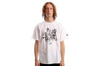 Foto van HUF T-Shirt HUF DIRECTIONS S/S TEE WHITE TS01765