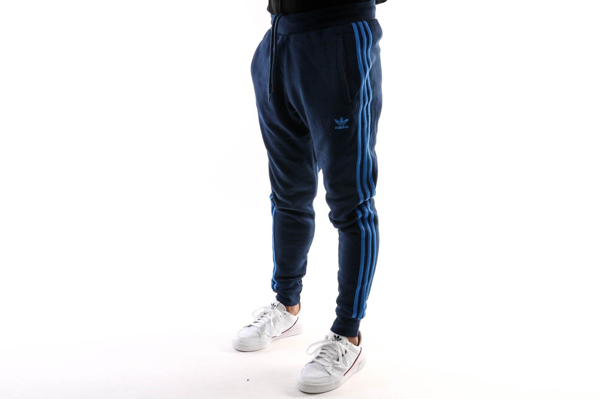 Afbeelding van Adidas 3-Stripes Pant Ek0263 Trackpant Collegiate Navy/Bluebird