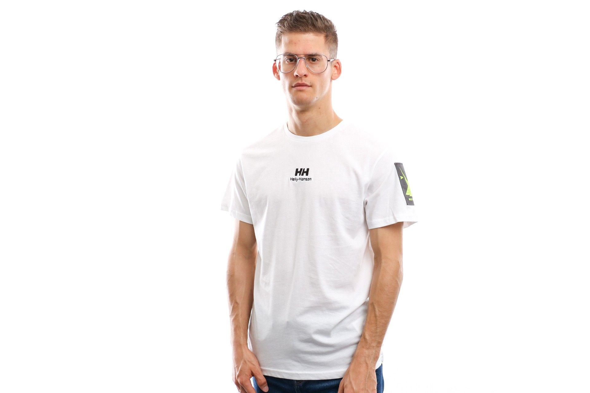 Afbeelding van Helly Hansen Yu Twin Logo T-Shirt 53391 T Shirt White