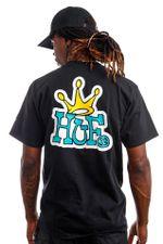 HUF T-Shirt HUF CROWN LOGO Black TS01414