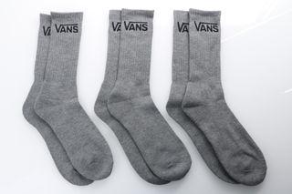 Foto van Vans Vxse-Htg Socks Classic Crew Grijs