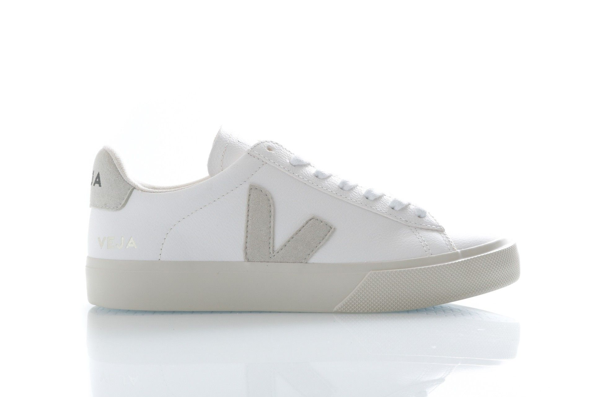Afbeelding van Veja Sneakers Campo Extra White/Natural CP051945