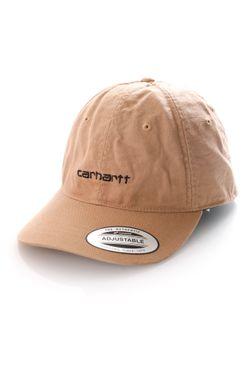 Afbeelding van Carhartt Dad Cap Canvas Coach Cap Dusty H Brown I028165