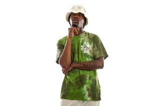 Foto van HUF T-Shirt Sunshine Tie Dye S/S Tee Green TS01609