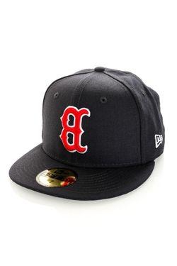 Afbeelding van New Era Fitted Cap UPSIDE DOWN 59FIFTY Boston Red Sox Navy NE60180829