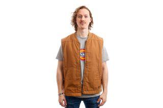 Foto van Dickies Vest Sherpa Lined Vest Brown Duck DK0A4X8UBD01