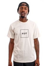 HUF T-Shirt HUF ESSENTIALS BOX LOGO Natural TS00507