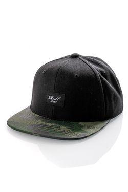 Afbeelding van Reell Snapback cap Pitchout Cap Black / Camo 1402-041
